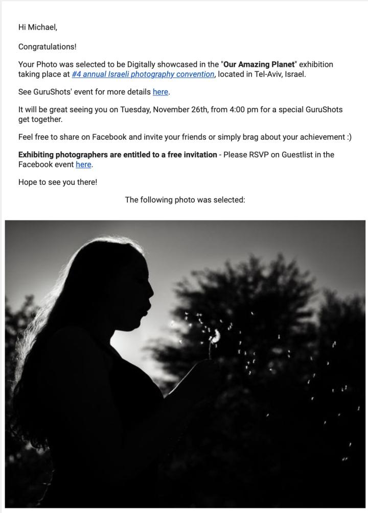 2019-11 - Guru Shots Digital Exhibition - Tel Aviv