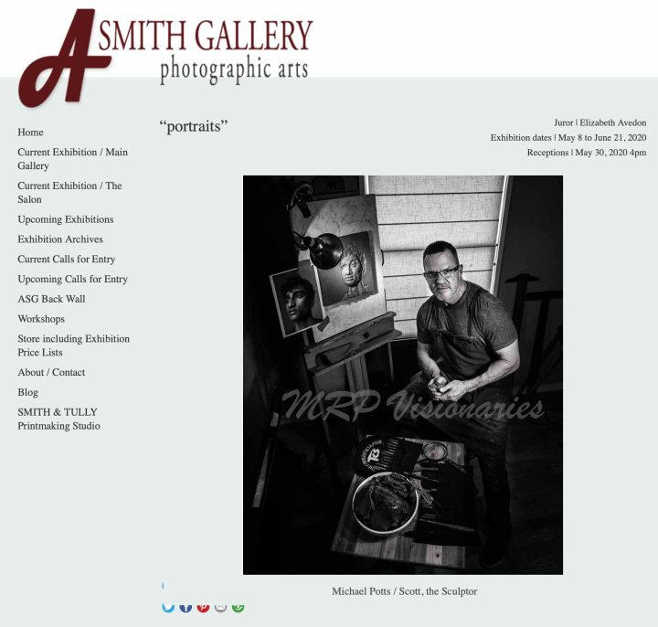 Scott in A.Smith Gallery